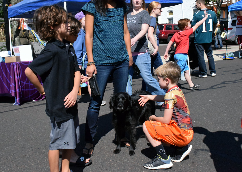 . Community members enjoy Perkasie Fall Festival  Sunday, Sept. 30. Debby High � For Digital First Media