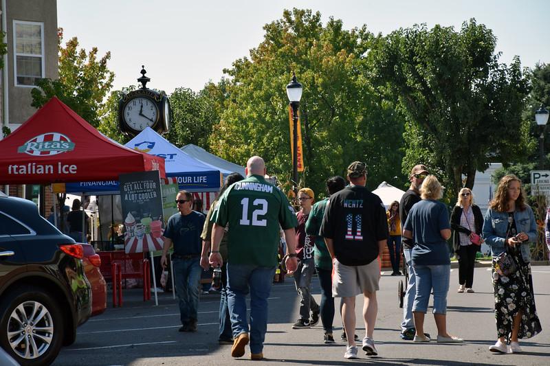 Community members enjoy Perkasie Fall Festival  Sunday, Sept. 30. Debby High — For Digital First Media