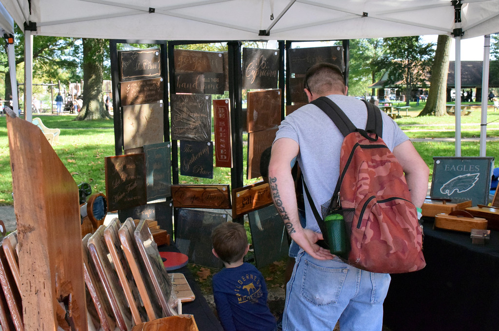. The sixth annual Souderton Art Jam is held along Wile Avenue in Souderton Saturday, Sept. 29. Debby High - For Digital First Media