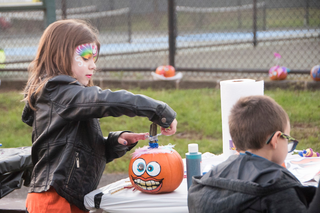 . Upper Moreland families attend the 28th annual Pumpkins on Parade event Oct. 20 at Masons Mill Park. Christine Wolkin - For Digital First Media