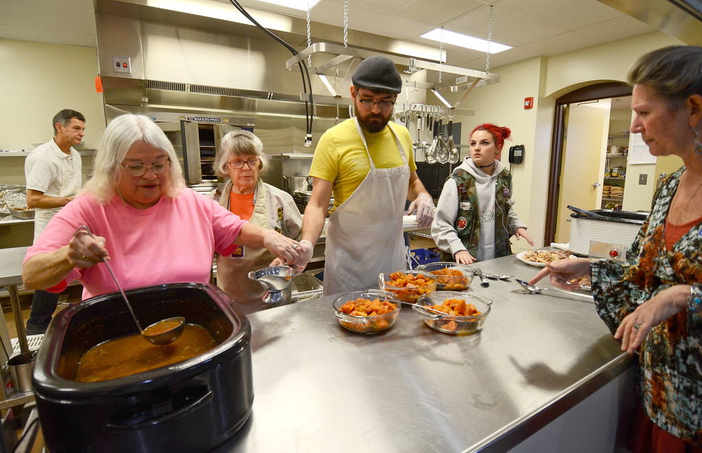 . Zion Mennonite Church hosts Table of Plenty Thanksgiving meal Nov. 23. Christine Wolkin - For Digital First Media