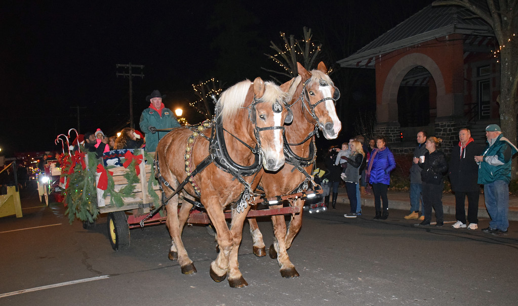 . Perkasie holds its annual tree lighting ceremony Saturday, Dec. 2. Debby High - For Digital First Media