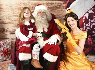 12_20_17 Santa and Belle visit Roxborough