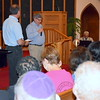 Ron Feldman, Vice Chair of UD Commissioners spoke of standing together at Ambler Church of the Brethren on Thursday, May 25,2017. DebbyHigh for Digital First Media