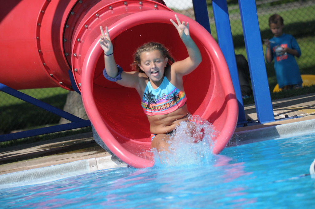 . Families enjoy the Hatboro Memorial Pool August 4, 2017. Gene Walsh � Digital First Media