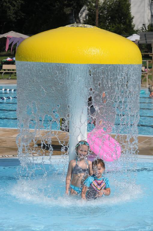 . Families enjoy the Hatboro Memorial Pool August 4, 2017. Gene Walsh � Digital First Media