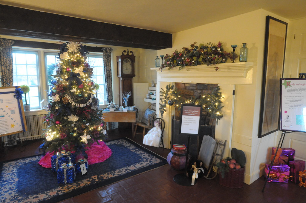 . Festival of Trees at Pearl S. Buck House December 4, 2018. Gene Walsh � Digital First Media