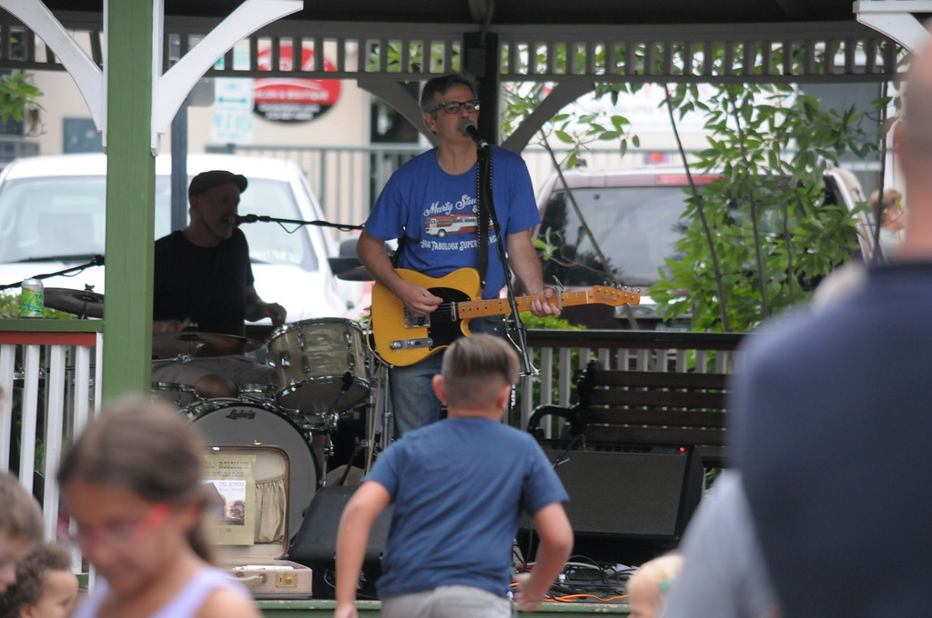 . Jenkintown Summer Music event July 31, 2018. Gene Walsh � Digital First Media
