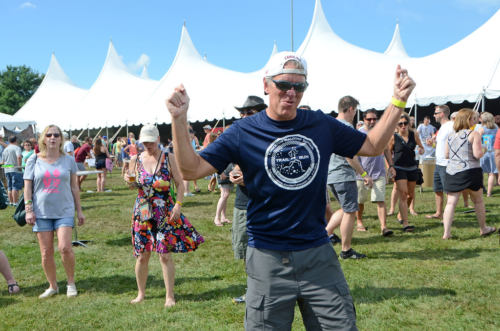 . Crowds turned out to the Lansdale Beer Tasting Festival in the borough on Saturday, June 24. (Christine Wolkin -- For Digital First Media)