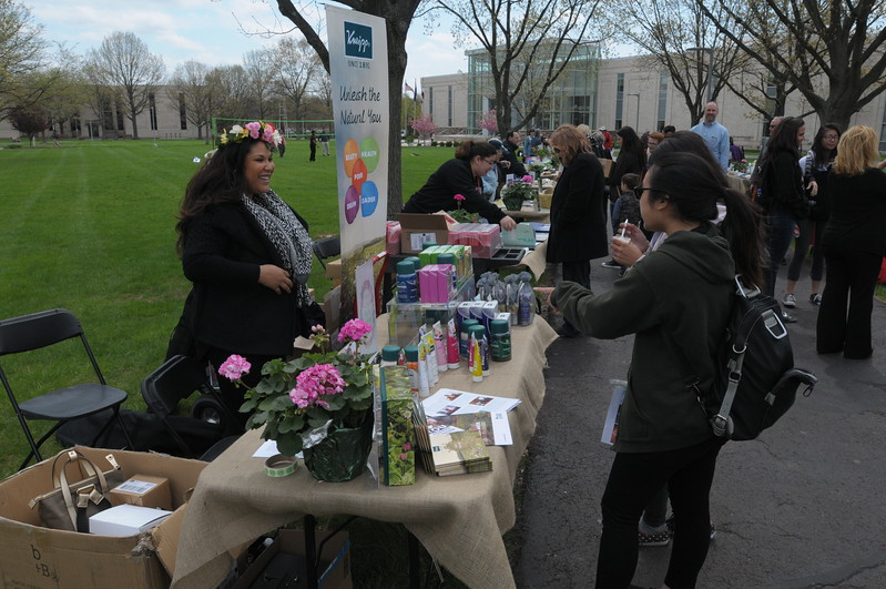 Montgomery County Community College celebrates Earth Day  April 19, 2017. Gene Walsh — Digital First Media