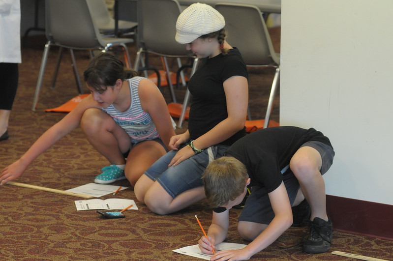 Science in the Summer program held at Indian Valley Public Library July 19, 2017. Gene Walsh — Digital First Media