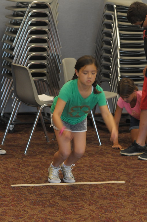 . Science in the Summer program held at Indian Valley Public Library July 19, 2017. Gene Walsh � Digital First Media