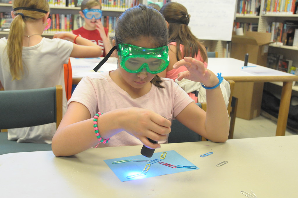 . Science in the Summer program held at Wissahickon Valley Library in Ambler June 25, 2018. Gene Walsh � Digital First Media