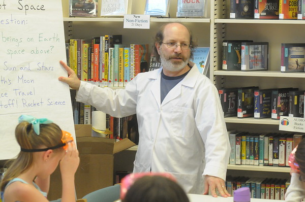 Science in the Summer program held at Wissahickon Valley Library in Ambler