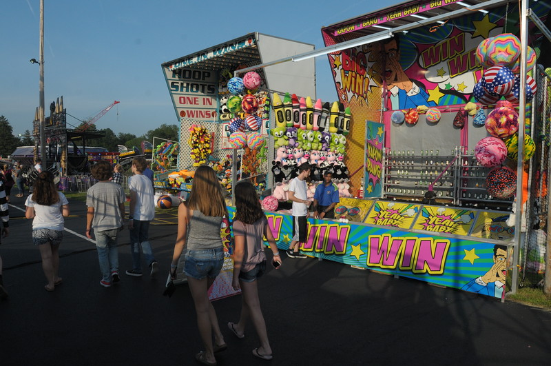 Sellersville Fire Department Carnival July 12, 2018. Gene Walsh — Digital First Media
