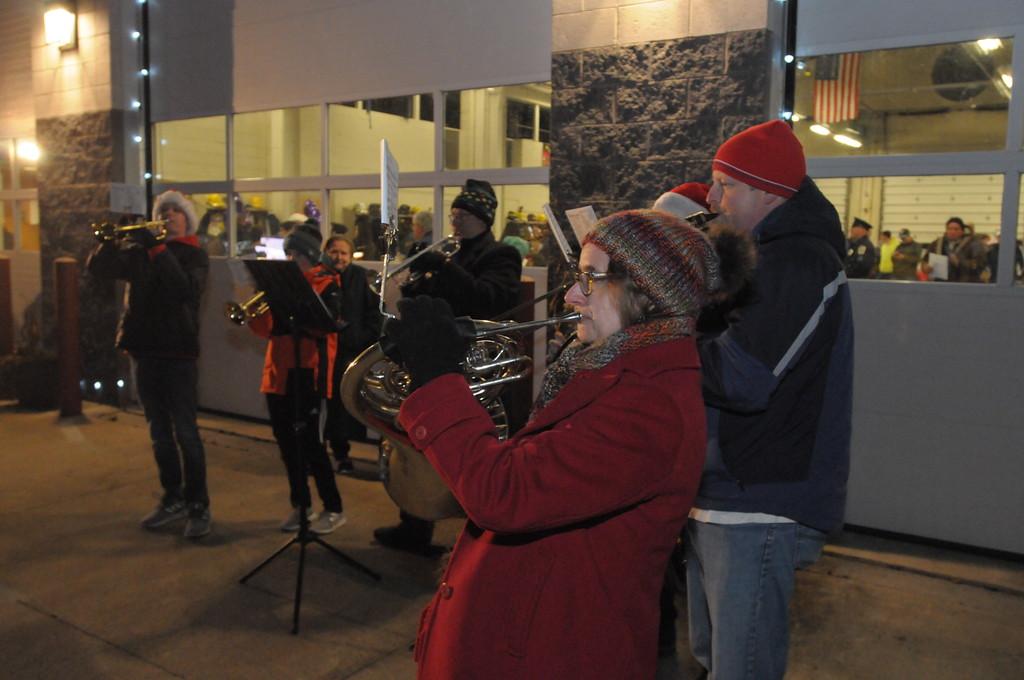 . Sellersville Fire Department Winterfest December 4, 2018. Gene Walsh � Digital First Media
