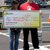 Villari's Self-Defense students took part in the annual Kick-a-Thon fundraiser for Manna on Main Street Saturday, June 3.<br /> Planned by student leaders, about 75 students from the Chalfont and Harleysville studios were sponsored to do 500 kicks in the parking lot of the New Britain Village Square shopping center, where one of the studios is located. (Photo by Leon Weiner — Submitted to Digital First Media)