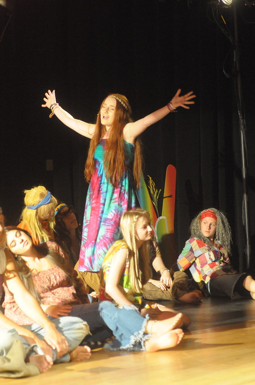 """. Young Starrs Theater Co. dress rehearsal for \""""Hair.� August 6, 2018. Gene Walsh � Digital First Media"""