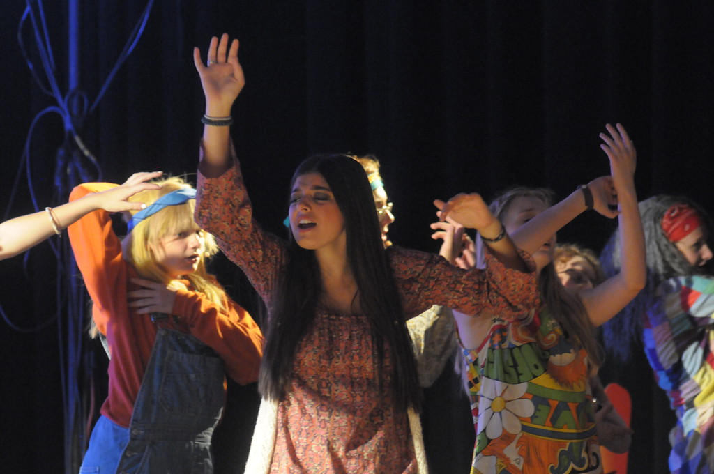". Young Starrs Theater Co. dress rehearsal for ""Hair.� August 6, 2018. Gene Walsh � Digital First Media"