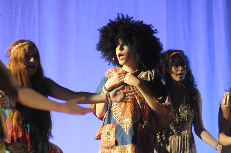 "Young Starrs Theater Co. dress rehearsal for ""Hair."" August 6, 2018. Gene Walsh — Digital First Media"
