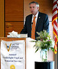 Montgomery County District Attorney Kevin Steele speaks to victims' families and friends at the Victim Services Center Annual Candlelight Vigil April 11, 2017.  (Bob Raines--Digital First Media)