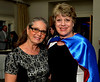 Bob Raines--Digital First Media<br /> Mary Lou Fischer, left, accompanied her superhero sister, JoAnne Fischer, executive director, Maternity Care Coalition, to the North Penn United Way Superheroes Unite Gala April 21, 2017