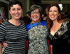 Superhero Suzan Gould attends the North Penn United Way Superheroes Unite Gala with her daughter, Crystal Bianchi, left, and daughter-in-law, Elizabeth Gould April 21, 2017.  (Bob Raines/Digital First Media)