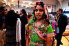Vidya Rajan models a traditional Gujarat regional costume from India  April 22, 2017.  (Bob Raines/Digital First Media)