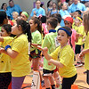 Boys and girls take part in one of the dance segments of the Montgomery Elementary MiniTHON Feb. 4, 2017.  (Bob Raines--Digital First Media)