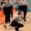 The North Penn High School Dace Team performs at  the Montgomery Elementary MiniTHON Feb. 4, 2017.  (Bob Raines--Digital First Media)