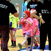 This young girl dances up a storm surrounded by event staff at the Montgomery Elementary MiniTHON Feb. 4, 2017.  (Bob Raines--Digital First Media)