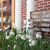 "A sign reading ""Welcome to Holland"" greets visitors as they enter Highland Elementary School's Dutch-themed Junior Flower Show.  Rachel Wisniewski — For Digital First Media"