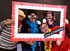 Leith Abunima, Nick Morales, Mason McGlinchey and Zach Stanfield get framed for a photo during LOG-A-THON at Log College Middle School Feb. 23, 2017.  (Bob Raines--Digital First Media)
