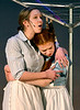 "Aunt Em (Caroline Shelly) reassures Dorothy (Mariel Pello) that she  is loved by all at the farm. They are rehearsing for the Springfield Township High School production of ""The Wiz"" March 7, 2017.  (Bob Raines / Digital First Media)"