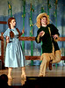 "Scarecrow (Charlie Beall) is happy that Dorothy (Mariel Pello) has freed him from his pole.They are rehearsing for the Springfield Township High School production of ""The Wiz"" March 7, 2017.  (Bob Raines / Digital First Media)"