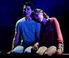 """Ariel (Jessica Stahl) takes Ren (Scotty Murphy) to her private place by the railroad where she tells him about her brother's death and where they realize they are in love in """"Almost Paradise.""""  (Bob Raines / Digital First Media)"""