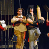 """Pennridge High School students prepare for the opening weekend of """"Shrek the Musical"""" during a dress rehearsal Monday, March 27.  Christine Wolkin — For Digital First Media"""