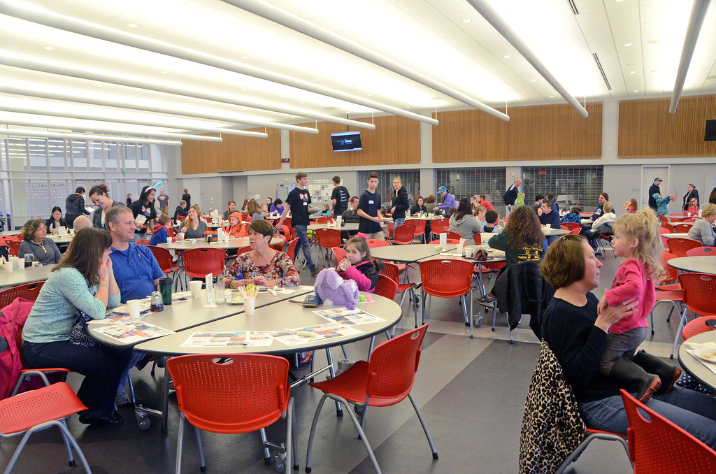 . Souderton Area High School�s Future Business Leaders of America hosts its annual pancake breakfast and Easter egg hunt at the high school Saturday, April 8.  Christine Wolkin � For Digital First Media