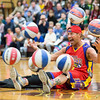 """Blackjack"" shows off his ability to balance seven spinning basketballs at the same time.  Rachel Wisniewski — For Digital First Media"