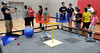 School district children and parents get to try out robots and ask questions of robotics teachers and their students during the Hatboro-Horsham School District Robotics Expo at Hallowell Elementary School May 2, 2017.  (Bob Raines/Digital First Media)