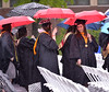 The student procession wends its way to the Gwynedd Mercy University commencement May 13, 2017.  (Bob Raines/Digital First Media)