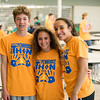 Vincent Sordini, Skyla Dingaro and Aly Mayers attend Pennridge High School's Mini-THON Saturday, May 13.  Jeff Davis — For Digital First Media