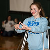 Abby Cozza attends Pennridge High School's Mini-THON Saturday, May 13.  Jeff Davis — For Digital First Media
