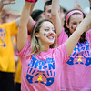 Emma Zimmerman dances during Pennridge High School's Mini-THON Saturday, May 13.  Jeff Davis — For Digital First Media