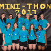 Students Hanna Fair, Michaela Hooper, Victoria Hanus, Natalie Pyne, Emily Osborne, Emma Kramer, Kendall McKeever, Kaitlyn Harries, Skylar Ortman, Krista Tyson and Ada Dibor attend Pennridge High School's Mini-THON Saturday, May 13.  Jeff Davis — For Digital First Media
