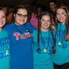 Marissa Haas, Meghan Kramer, Erin McCloskey and Taylor Wilson attend Pennridge High School's Mini-THON Saturday, May 13.  Jeff Davis — For Digital First Media