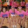 Lauren Schuler, Sierra Schaeffer, Hannah Portagez, Andersen Dimon and Kayla Richards stay entertained playing gaga at Pennridge High School's Mini-THON Saturday, May 13.  Jeff Davis — For Digital First Media