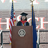 William Tennent High School's Senior Class President Jessica Lopez Arrieta addresses the Class of 2017 at the school in Warminster June 9. Christine Wolkin - For Digital First Media