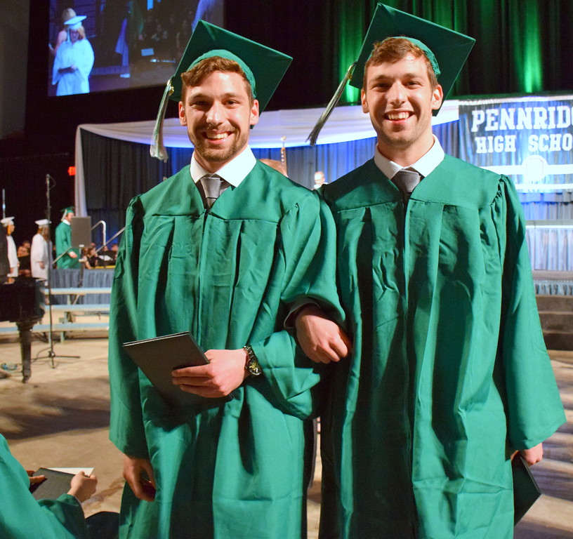 . Pennridge High School holds its commencement ceremony for the Class of 2017 in Stabler Area at Lehigh University Thursday, June 8. Debby High � For Digital First Media