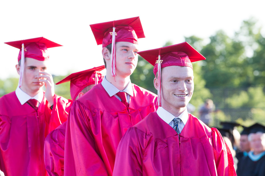 . Souderton Area High School holds its graduation ceremony for the Class of 2017 Friday, June 9. Rachel Wisniewski � Digital First Media